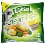Wattie's Steamfresh Mixed Vegetables Baby Potatoes Broc Carrot 400g (200g x 2pk)