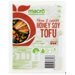 Macro Tofu Honey Soy 200g
