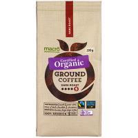Macro Organic Fair Trade Plunger Grind Dark Ground 200g