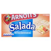 Arnott's Salada Crackers Wholemeal box 250g