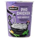 Trident Instant Noodles Cup Pho Chicken Rice Noodles 50g