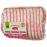 Countdown Free Farmed Pork Roast Boneless Loin min order 1kg per kg