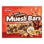 Griffin s Muesli Bars Chocolate Chippie 180g (30g x 6pk)
