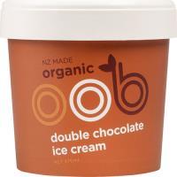 Oob Organic Double Chocolate Ice Cream 470ml