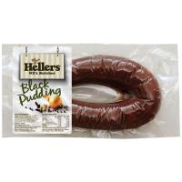 Hellers Black Pudding min order 400g per 1kg