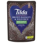 Tilda Basmati Rice Brown & Wild 250g