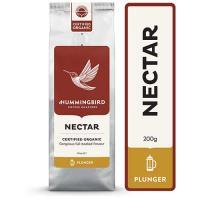 Hummingbird Nectar Organic Plunger Grind Coffee 200g