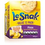Le Snak Crackers N Dip Pizza 264g (12pk)