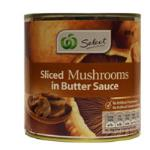 Select Mushrooms In Butter Sauce 400g