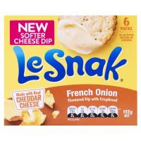 Le Snak Crackers N Dip French Onion 132g (6pk)