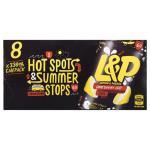 L&P Soft Drink Lemon & Paeroa 2640ml (330ml x 8pk)