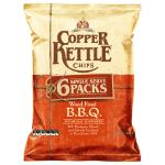 Copper Kettle Potato Chips Wood Fired Bbq 132g multipack 6pk