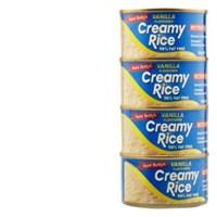 Aunt Bettys Rice 2 Go Creamed Rice Vanilla Creamy Rice 400g (100g x 4pk)
