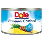 Dole Pineapple Crushed In Syrup 234g