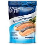Ocean Blue Salmon Portions Skin On 800g