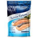 Ocean Blue Salmon Portions Skin On 800g