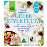 Countdown Fresh Cheese Greek Style Fetta 200g