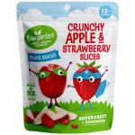 Kiwigarden Fruit Snack Apple And Strawberry Slices 14g