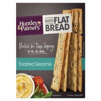 Huntley & Palmers Baked Flat Bread Toasted Seaseme 125g