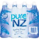 Pure NZ Water Spring 9L (750ml x 12pk)