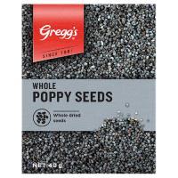 Gregg's Greggs Poppy Seeds Whole box 40g
