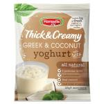 Hansells Thick & Creamy Yoghurt Base Greek & Coconut 220g
