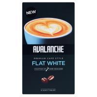 Avalanche Coffee Mix Flat White 140g box 10 sachets