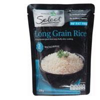 Countdown Long Grain Rice Microwave 250g