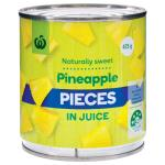 Countdown Pineapple Pieces In Natural Juice 425g