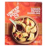 United Food Co Dumplings Ginger Prawn frozen 300g