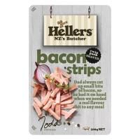 Hellers Bacon Bits Cooked Strips 200g