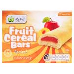 Select Fruit Bars Cereal Apricot 6pk