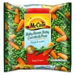 McCain Mixed Vegetables Baby Beans, Carrots & Peas 1kg