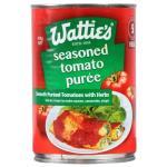Wattie's Tomato Puree Italian Seasoned 410g