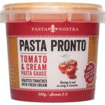 Pasta Nostra Pasta Pronto Fresh Pasta Sauce Tomato & Cream 300g
