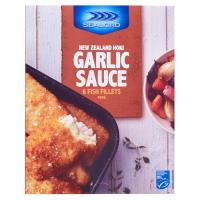 Sealord Fish Fillets Hoki Crumbed In Garlic Sauce 460g