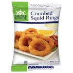 Shore Mariner Squid Rings Crumbed frozen 500g