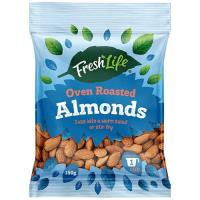 Fresh Life Almonds Oven Roasted 150g
