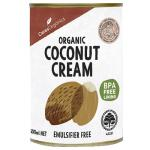 Ceres Organics Coconut Cream Creamy & Unsweetened can 400ml