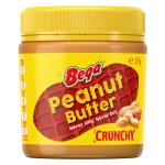 Bega Peanut Butter Crunchy jar 375g