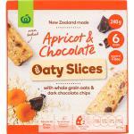 Countdown Oaty Slices Muesli Bars Apricot & Chocolate 240g (40g x 6pk)