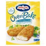 Birds Eye Oven Bake Fish Fillets Herb & Garlic Crumb 425g (6pk)