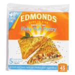 Edmonds Flaky Puff Pastry Reduced Fat 750g 5 sheets