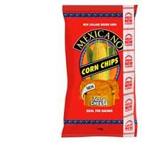 Mexicano Corn Chips Tasty Cheese 170g