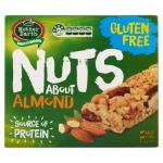 Mother Earth Nuts About Muesli Bars Almond 5pk