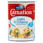 Nestle Carnation Evaporated Milk Lite & Creamy 375ml