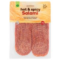 Countdown Salami Sliced Hot prepacked 125g