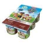 Paw Patrol Dairy Food 6pk Chocolate 125g pottles 750g