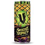 V Twisted Tropics Pineapple Crush Guarana Energy Drink 250ml