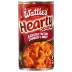 Watties Big N Hearty Canned Soup Ravioli With Tomato & Beef 535g